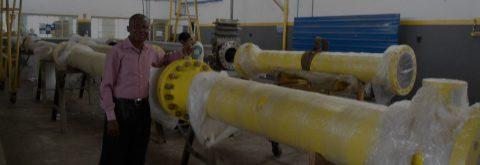 LACT Unit Fabrication - Assembling of PD Meter