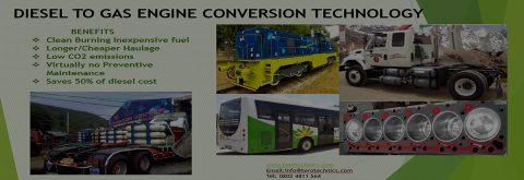 Diesel to Gas Engine Conversion